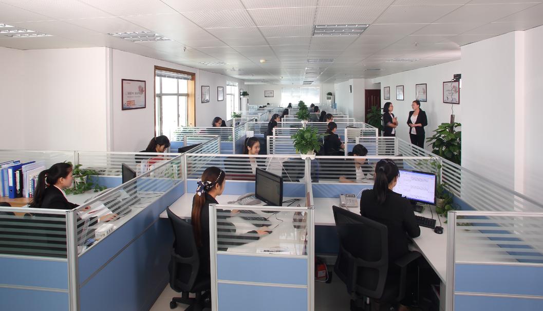 深圳登尼特办公室一角